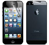 preiswerte -Displayschutzfolie Apple für iPhone 6s iPhone 6 iPhone SE/5s 1 Stück Vorderer & hinterer Bildschirmschutz Matt