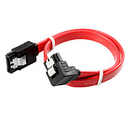 cheap -90 Degree Port SATA Cable (0.5 m)