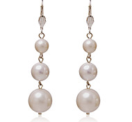 cheap -Women's - Regular Classic White Round Others Earrings For Party