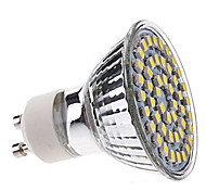 3W GU10 LED Spotlight MR16 48 LEDs SMD 3528 Natural White 5500lm 5500KK AC 220-240V
