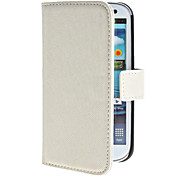 Protective PU Leather Case with Stand and Card Slot for Samsung Galaxy S3 I9300