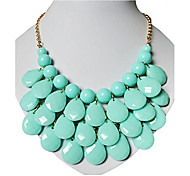Women's Choker Necklaces Vintage Necklaces Resin Fashion Costume Jewelry Jewelry For Party