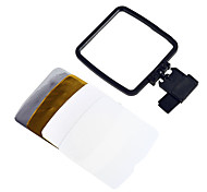 Flash Softbox Diffuser with Paperboard & Pouch for Canon Nikon Sony Olympus Sigma Camera