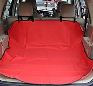 Кошка Собака Чехол для сидения автомобиля Животные Коврики и подушки Водонепроницаемость Складной Черный Серый Красный Синий Для домашних