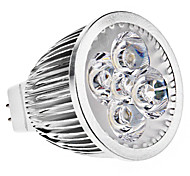 GU5.3(MR16) LED Spotlight MR16 5 High Power LED 390 lm Warm White K DC 12 AC 12 V