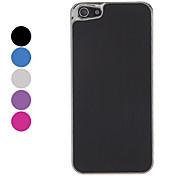 Einfache Entwurf Solid Color versilbert gebürstetem Aluminium Hard Case für das iPhone 5 (verschiedene Farben)