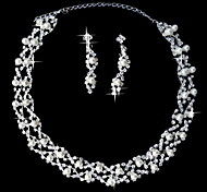 cheap -Jewelry Set Women's Anniversary / Wedding / Engagement / Birthday / Party / Special Occasion Jewelry Sets AlloyImitation Pearl /