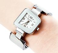 Damen Armband-Uhr Quartz Band Armreif Elegante Schwarz Weiß Blau Rosa Gelb Marinenblau Schwarz Gelb Rosa Marineblau Hellblau
