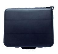 Недорогие -штук Коробка для рыболовной снасти Черный г/Унция мм дюймовый,Жесткие пластиковые