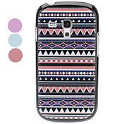 cheap -Polychrome Geometric Pattern Hard Case for Samsung Galaxy S3 mini I8190