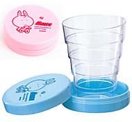 Недорогие -милый мультфильм портативный складной телескопический чашка складной путешествие ребенок пить кружка подарок на день рождения