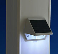 Solar Powered LED White Light Pathway Path Stair Wall Mounted Garden Lamp (CIS-57163)