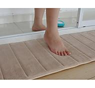 Недорогие -1шт Modern Полиэфирное микроволокно Однотонный Ванная комната / Прямоугольная