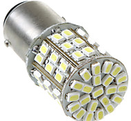 1157/BAY15D 2057 64 1206 SMD LED Car Tail Brake Stop Turn Light Bulb Lamp White