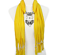 butterfly jewellery pendant with stones scarves,NL-1789a,b,c,d,e,f,g,h