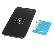 Беспроводное зарядное Pad & приемник с AWG сетевой адаптер и беспроводной допускать к Samsung Galaxy S3 I9300 (черный)