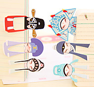 Classical Beijing Opera Role Mini Bookmark (7PCS)