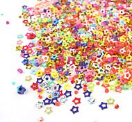 Недорогие -1 Блеск и Пудре Полимерные ногтей Декоративные наборы Мультяшная тематика Мода Милый Свадьба Высокое качество Повседневные