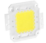Недорогие -zdm ™ diy 100w 7900-8000lm 3000ma 6000-6500k Интегрированный светодиодный модуль с холодным белым светом (32-36v)