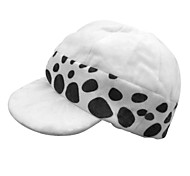 Hat/Cap Inspired by One Piece Trafalgar Law Anime Cosplay Accessories Hat White / Black Polyester Male