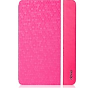 Honeycomb Texture Protective Full Body Leather Case for iPad Air (Assorted Colors)