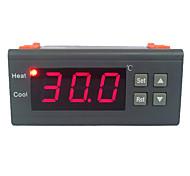 30A 220V цифровой ЖК контроллер температуры термопары с датчиком