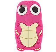 Cute Cartoon Turtle Style Protective Silicone Case for iPhone 5(Assoited Color)