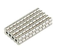 Недорогие -Магнитные игрушки Конструкторы Сильные магниты из редкоземельных металлов Неодимовый магнит 100 Куски D3*3mm Игрушки Магнит Магнитный