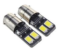 cheap -BA9S Car Cold White 1.5W SMD 5730 6000 Instrument Light Reading Light Side Marker Light Door lamp