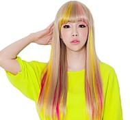 Клип в синтетических наращивание волос штук волос несколько доступных цветов