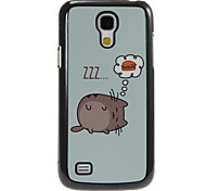 cheap -For Samsung Galaxy Case Pattern Case Back Cover Case Cat PC Samsung S4 Mini