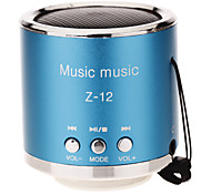 cheap -Z-12 Portable Speakers Silver Purple Red Blue Pink