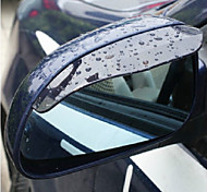 cheap -2X Car Rearview Mirror Rain Water Eyebrows Cover Side Shield