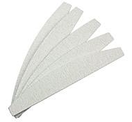 5PCS Серый дугообразных Эмери Nail Art Файлы