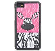Zebra-Stripe Drawing Pattern Hard Case for Blackberry