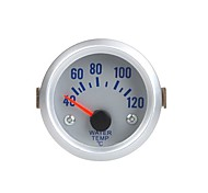 cheap -Water Temperature Meter Gauge with Sensor for Auto Car 2 52mm 40~120Celsius Degree Orange Light
