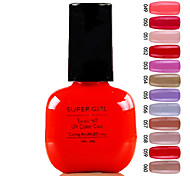 cheap -Nail Polish UV Gel  0.007 1 Regular UV Color Gel UV Builder Gel Classic Sheer Jelly Light Neon & Bright Soak off Long Lasting  Daily