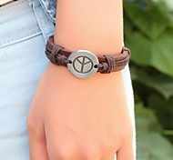 cheap -Men's Leather Bracelet Fashion Leather Alloy Jewelry Party Daily Casual Sports Costume Jewelry