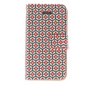 Honeycomb Lattice Pattern PU Leather case For iPhone 7 7 Plus 6s 6 Plus SE 5s 5c 5 4s 4