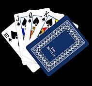 Presente personalizado azul Vine Padrão do cartão de jogo para Poker