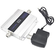 LCD Display Mini GSM 900Mhz Mobile Phone Signal Booster , GSM Signal Booster + Power Adapter