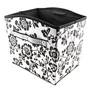 baratos -teste padrão de flor caixa de armazenamento tipo convexo