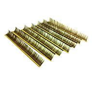 10 Eyelashes lash Eyelash Volumized Microfiber