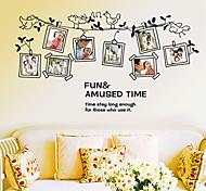 cheap -Photo Frame Pattern Wall Sticker(1PCS)