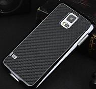 baratos -fibra de carbono de proteção + plástico de volta caso para Samsung Galaxy S5