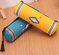 Cylindrical Pen Bag(Random Color)