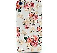 Pfingstrose Blumenmuster Hard Case für iPhone 4 / 4s