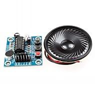 ISD1820 Audio Sound Recording Module w/ Microphone / Speaker