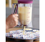 cheap -Cake Batter Dispenser With Measuring Label, 4-Cup Cake Mold,Baking Tool