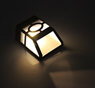 Недорогие -2-LED теплый белый Уличные светодиодные Солнечный свет Настенные светильники Пейзаж Pinup Путь Сад